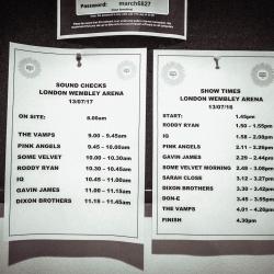 Wembley Show 1